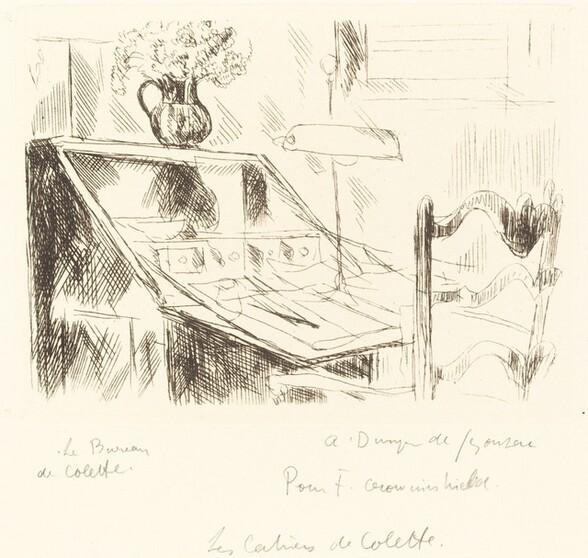 Le bureau de Colette (Colette