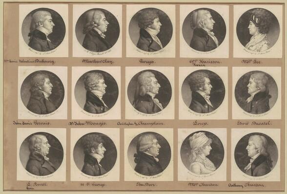Saint-Mémin Collection of Portraits, Group 15