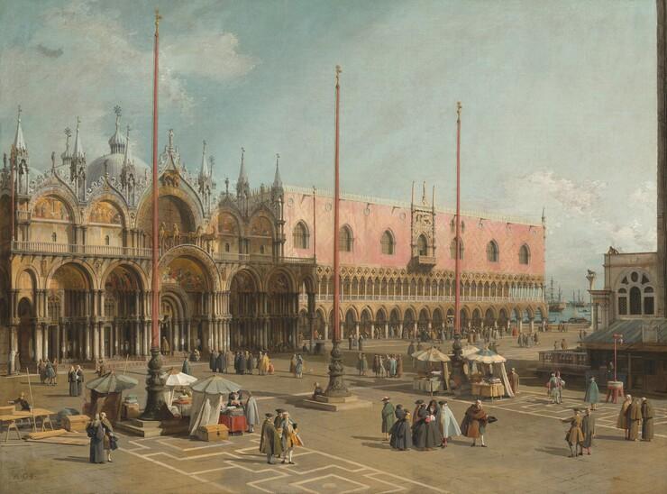 Canaletto, The Square of Saint Mark's, Venice, 1742/17441742/1744