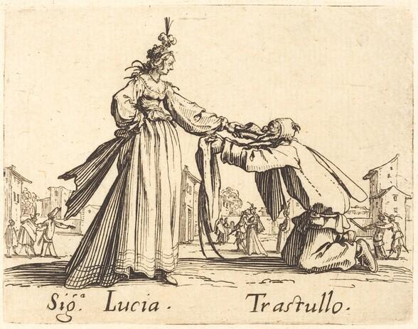 Signa. Lucia and Trastullo