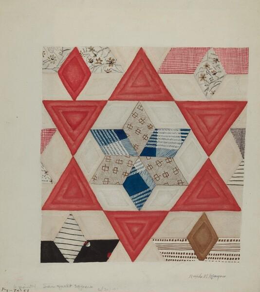 Shaker Quilt Pattern