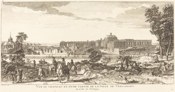 Vue du Chateau et d