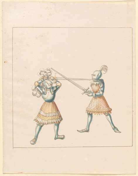 Freydal, The Book of Jousts and Tournament of Emperor Maximilian I: Combats on Foot (Jousts)(Volume III): Plate 162