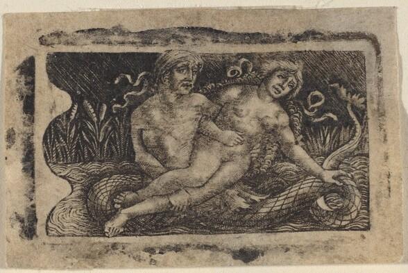 Triton and Nymph