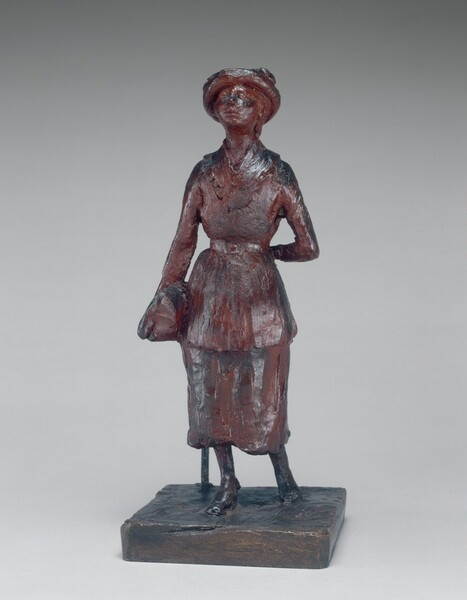 The Schoolgirl (Woman Walking in the Street)