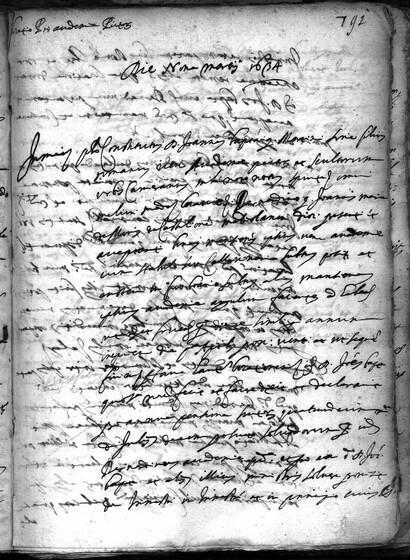 ASR, TNC, uff. 15, 1634, pt. 1, vol. 139, fol. 791r