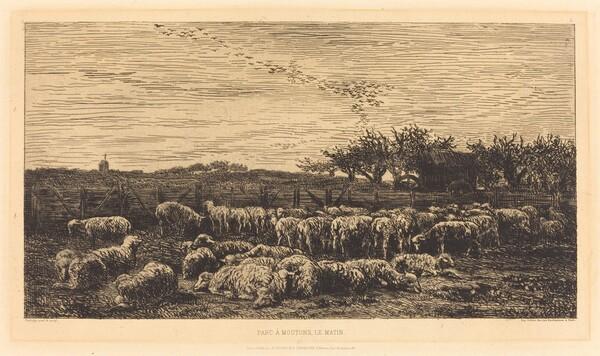 Large Sheepfold (Le Grand parc a moutons)