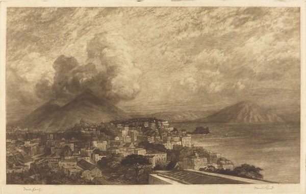 Vesuvius from the Bay of Naples