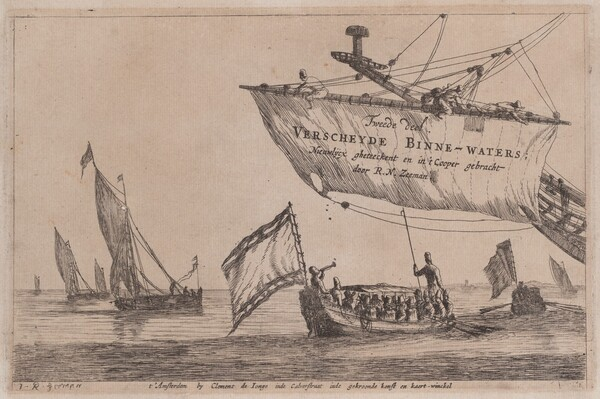 Title Page: Fishing Boats and Staten Sloop