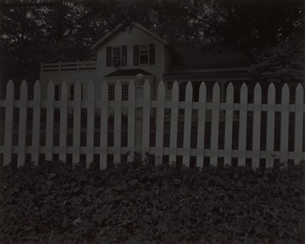Untitled #1 (Picket Fence and Farmhouse)