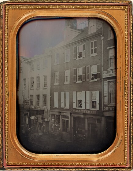 Frederick DeBourg Richards, McAllister's Optical Shop, Philadelphia, December 12, 1854