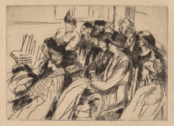 Group of Seated Figures