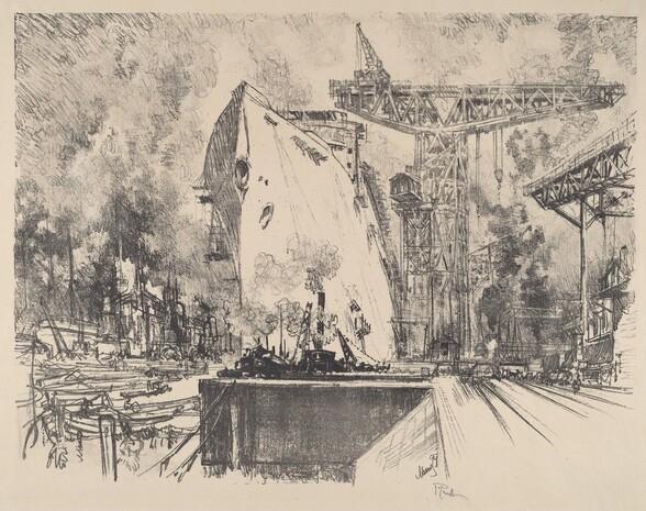Building the Bismarck, Hamburg