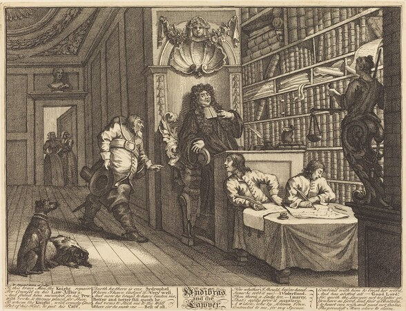 Hudibras and the Lawyer