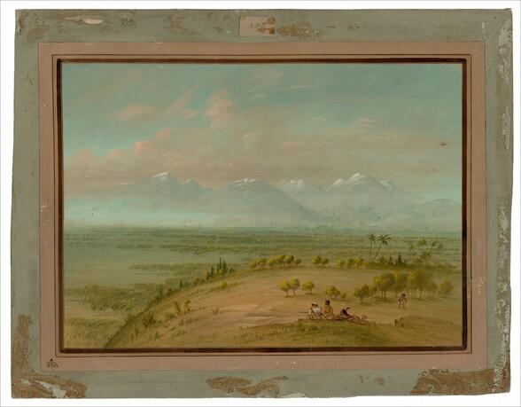 View of the Pampa del Sacramento