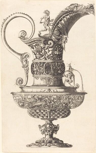 Jar with Neptune