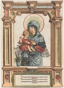 Albrecht Altdorfer, The Beautiful Virgin of Regensburg, c. 1519/1520
