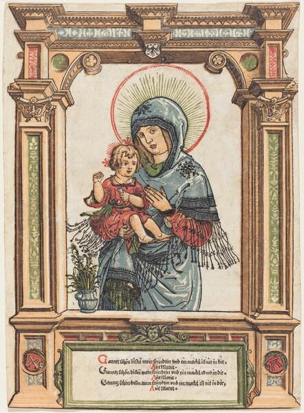 The Beautiful Virgin of Regensburg
