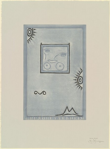 Untitled (White Mezzotint) [trial proof]