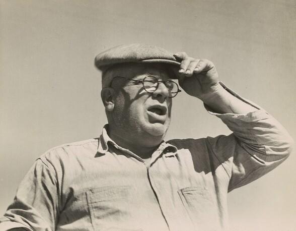 Henry Lotz at the Midway City Dairy Association Cooperative, near Santa Ana, California