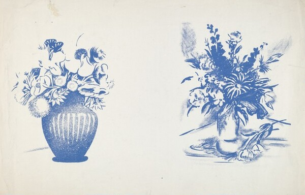 Still Life (Two Vases of Flowers)