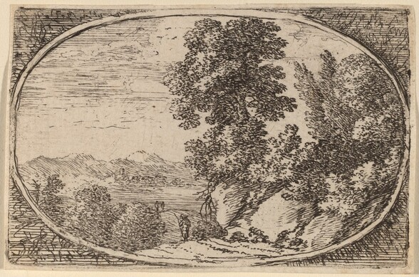 The Boulder Crowned with Trees