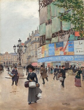 Jean Béraud, Paris, rue du Havre, c. 1882