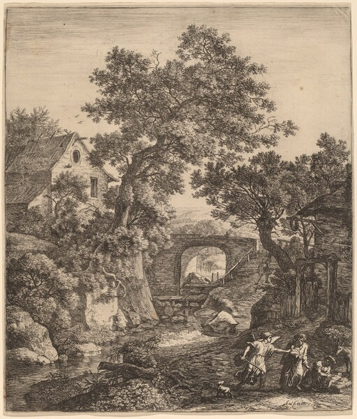 Landscape with the Circumcision of Moses