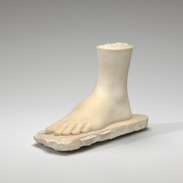 Foot of The Greek Slave