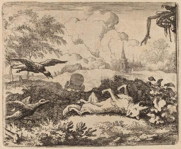 Reynard and the Crows