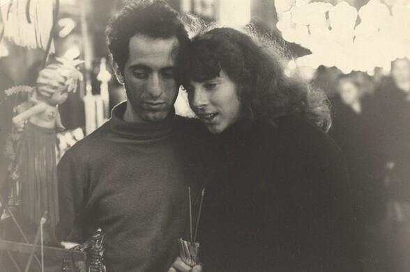 Robert and Mary Frank, San Gennaro Festival, New York City