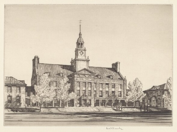 Fulo Hall, Institute for Advanced Study, Princeton University