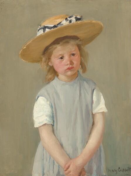 Child in a Straw Hat