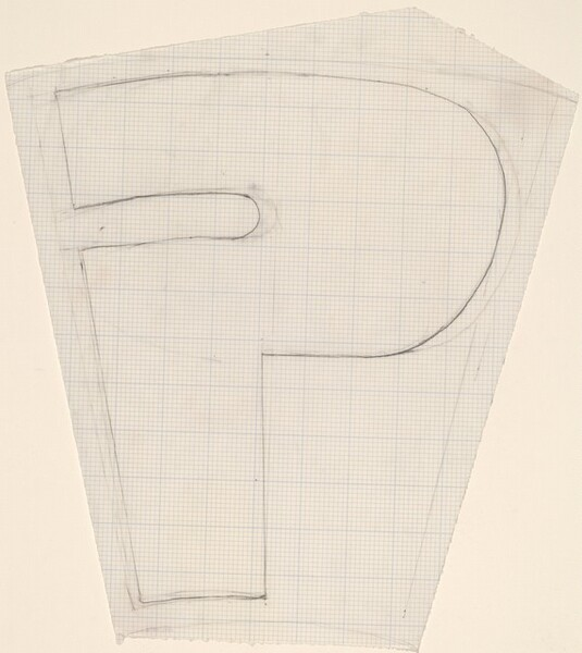 Sketch for Building - Blocks for a Doorway (P)