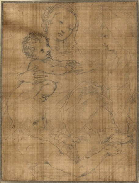 Mystic Marriage of Saint Catherine with Saint Jerome