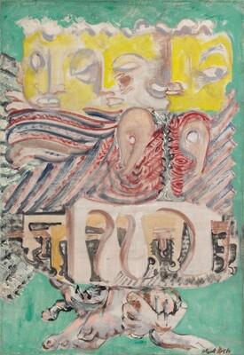 Mark Rothko, The Omen of the Eagle, 1942