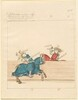 Freydal, The Book of Jousts and Tournament of Emperor Maximilian I: Combats on Horseback (Jousts)(Volume II): Plate 105
