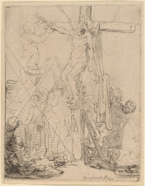 The Descent from the Cross: a Sketch