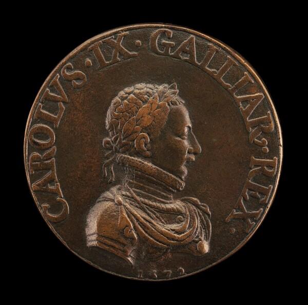 Charles IX, 1550-1574, King of France 1560 [obverse]