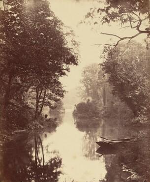 John Dillwyn Llewelyn, A Summer's Evening, Penllergare, August 25, 1854