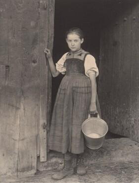 image: The Little Milkmaid