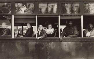 Robert Frank, Trolley—New Orleans, 19551955