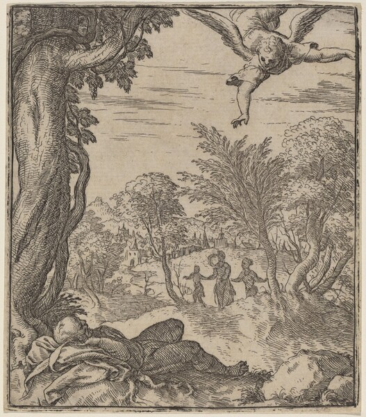 The Angel Appearing to Joseph