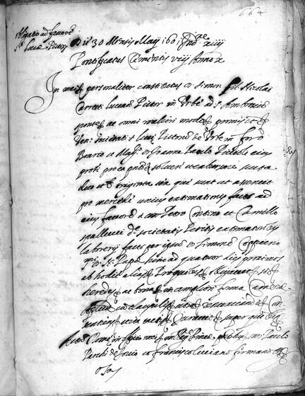 ASR, TNC, uff. 11, 1601, pt. 2, vol. 50, fol. 664r