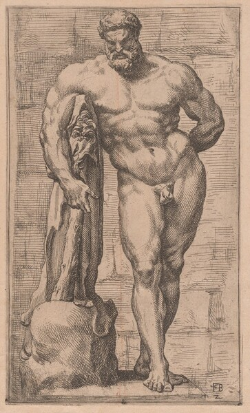 The Farnese Hercules, front view [plate 2]