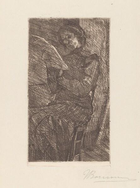 Woman Reading [Donna che legge]