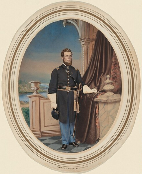 Portrait of a First Lieutenant, Infantry