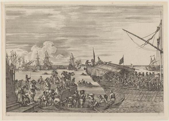 Departure of a Ship