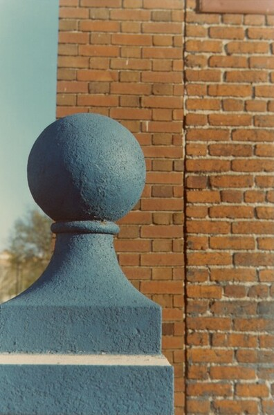 Blue Finial, Roof of Arbaugh