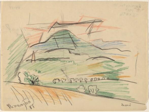 <p>John Marin, Bennington, Vermont, c. 1924